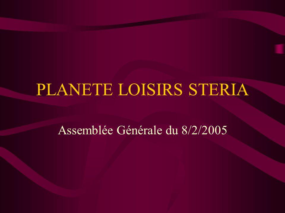 PLANETE LOISIRS STERIA