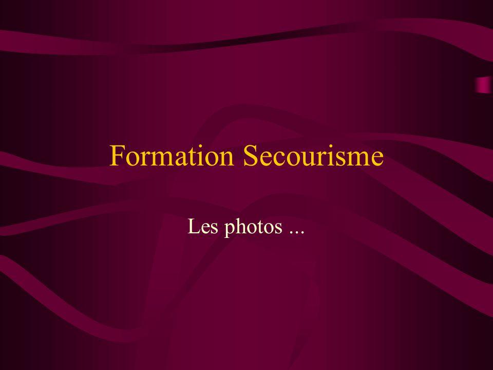 Formation Secourisme Les photos ...