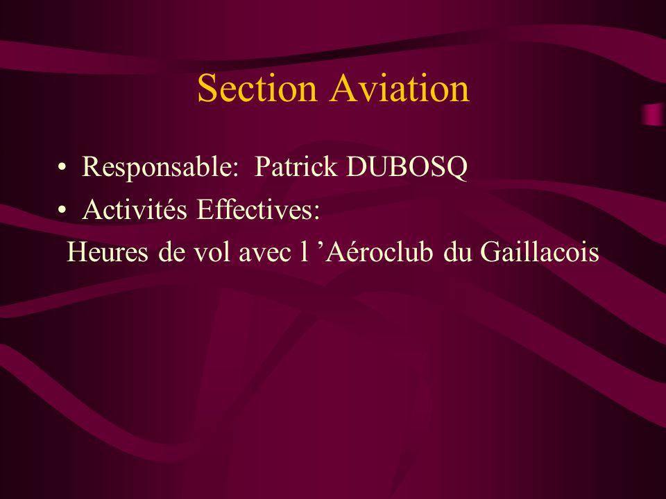 Heures de vol avec l 'Aéroclub du Gaillacois