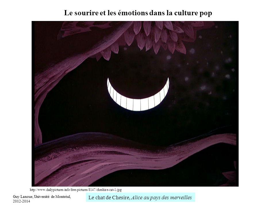 Le sourire et les émotions dans la culture pop