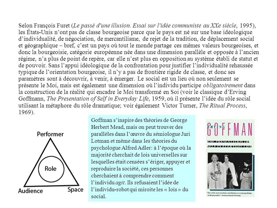 Selon François Furet (Le passé d une illusion