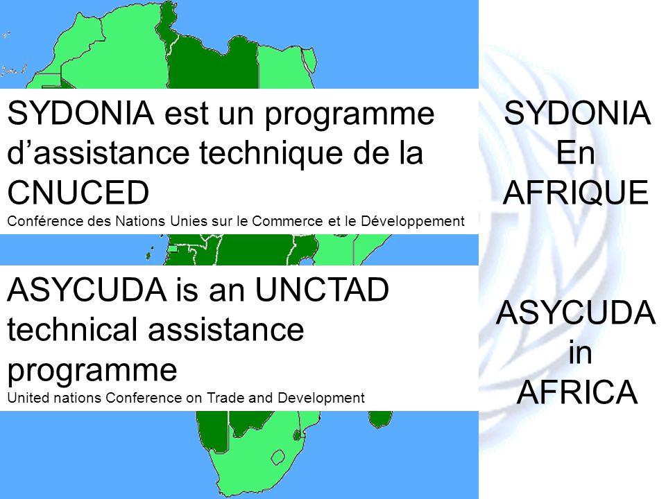 SYDONIA est un programme d'assistance technique de la CNUCED SYDONIA