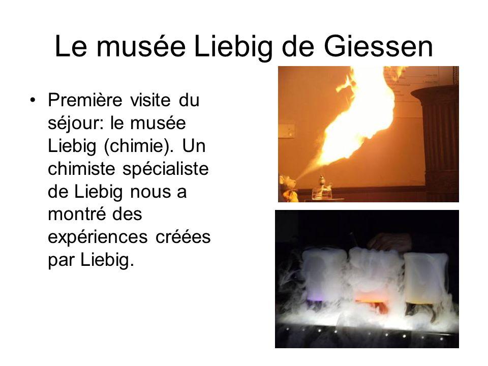 Le musée Liebig de Giessen