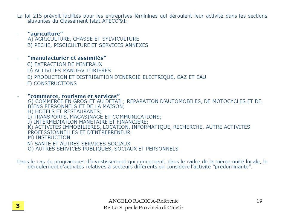 ANGELO RADICA-Referente Re.Lo.S. per la Provincia di Chieti-