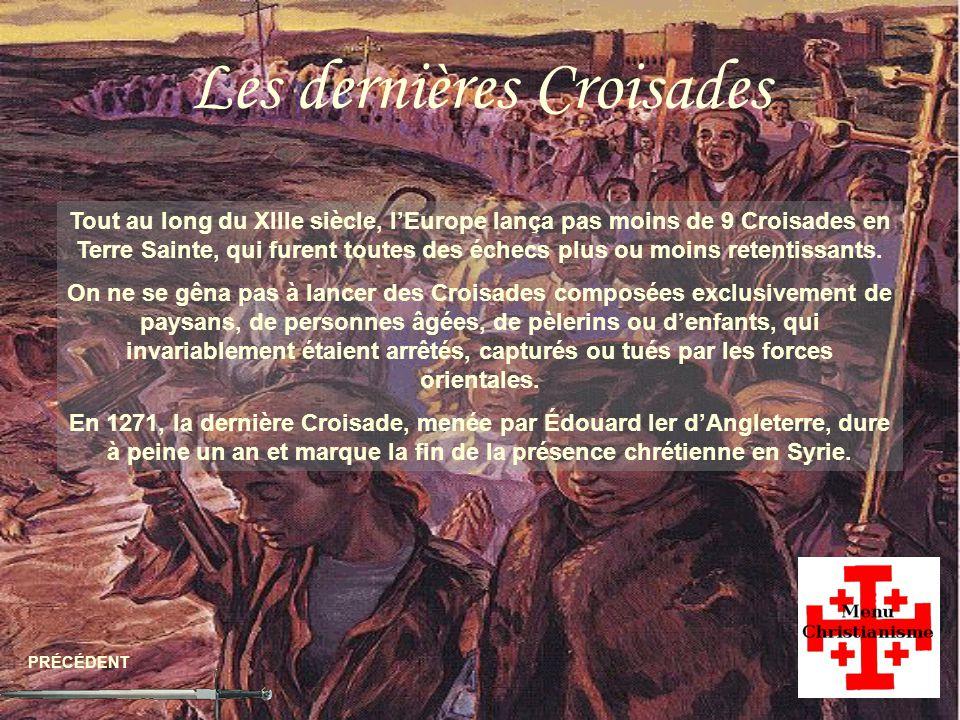 Les dernières Croisades