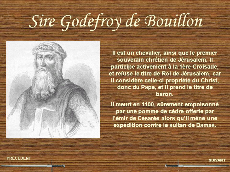 Sire Godefroy de Bouillon