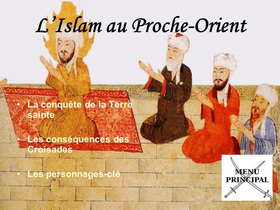 L'Islam au Proche-Orient