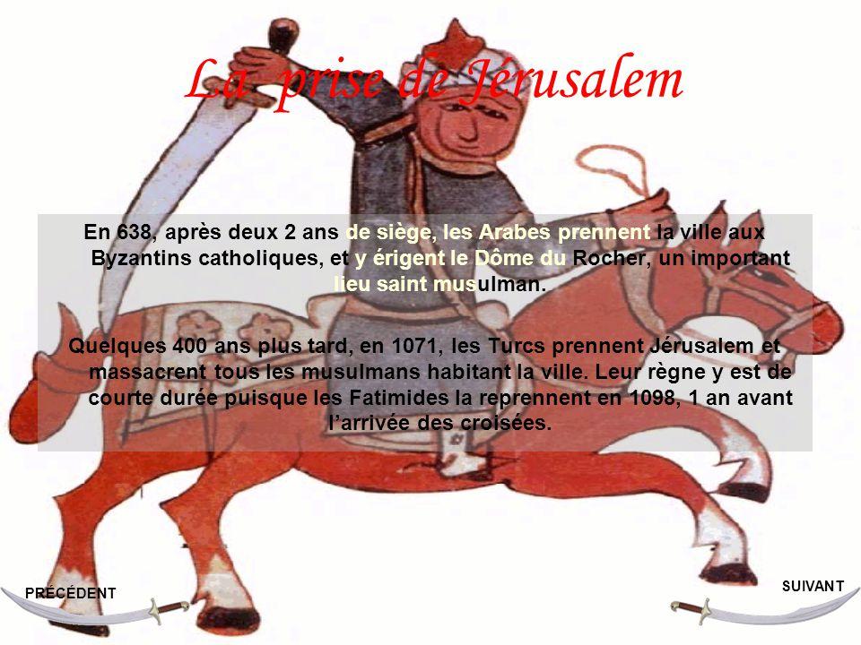 La prise de Jérusalem
