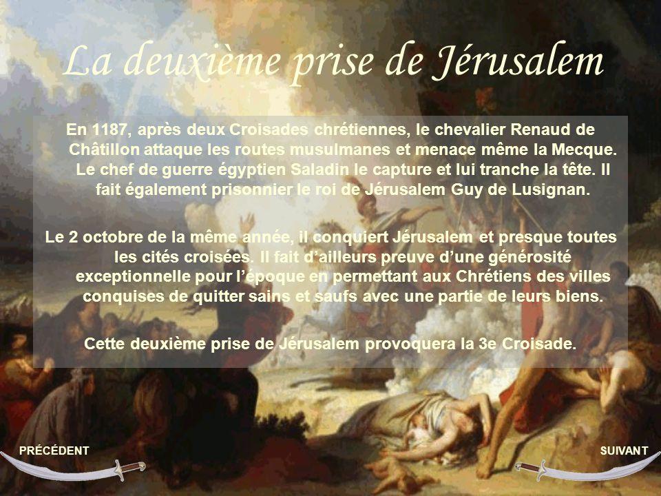 La deuxième prise de Jérusalem