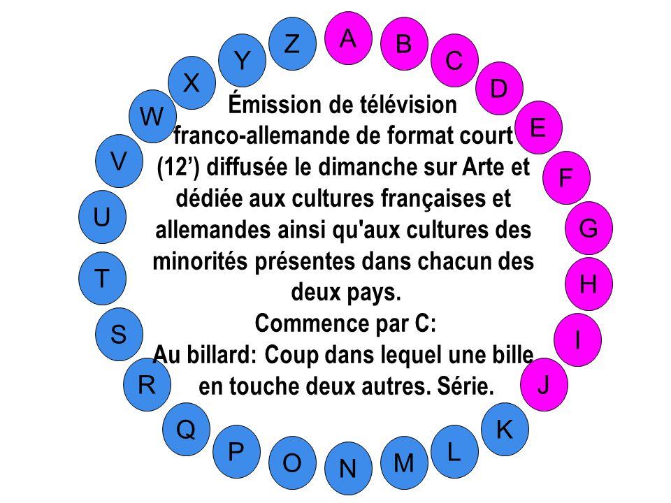 Émission de télévision franco-allemande de format court