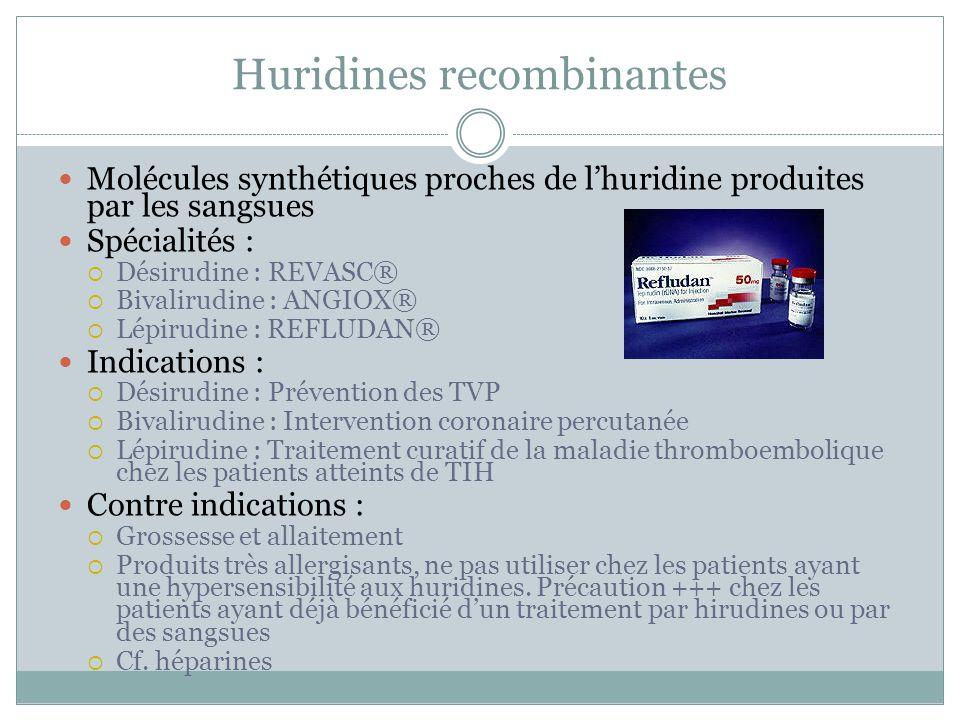 Huridines recombinantes