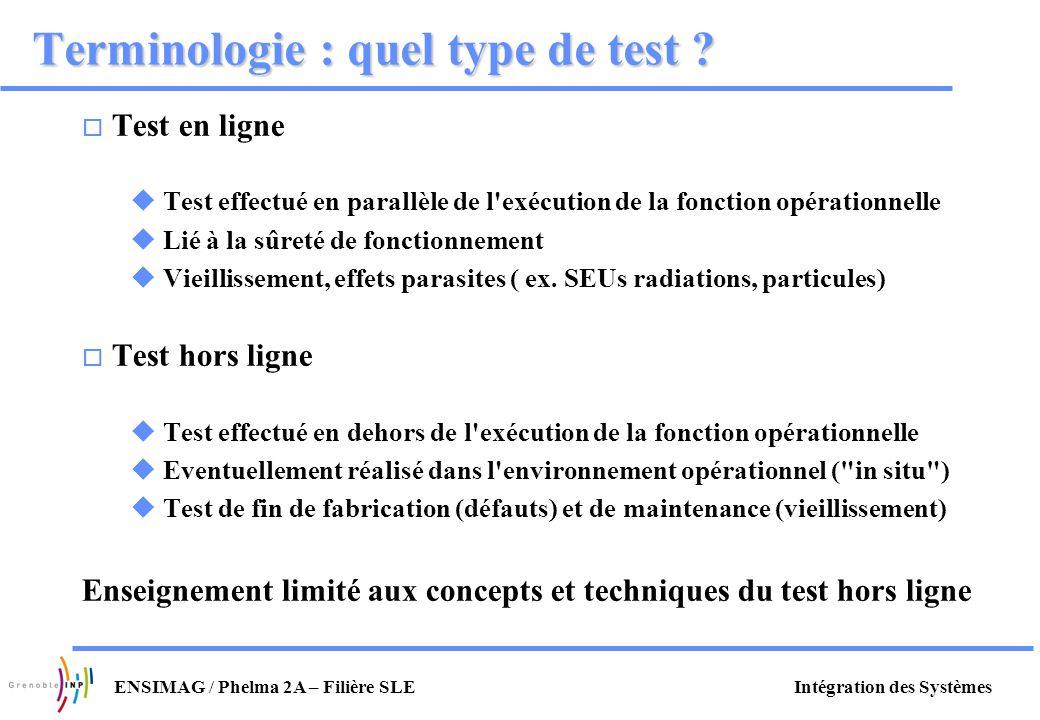 Terminologie : quel type de test