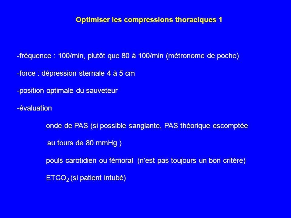 Optimiser les compressions thoraciques 1