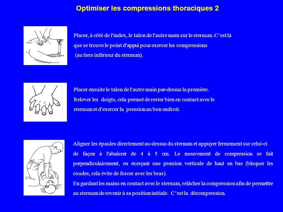 Optimiser les compressions thoraciques 2