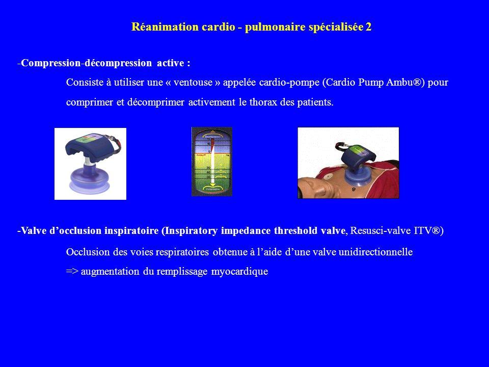 Réanimation cardio - pulmonaire spécialisée 2