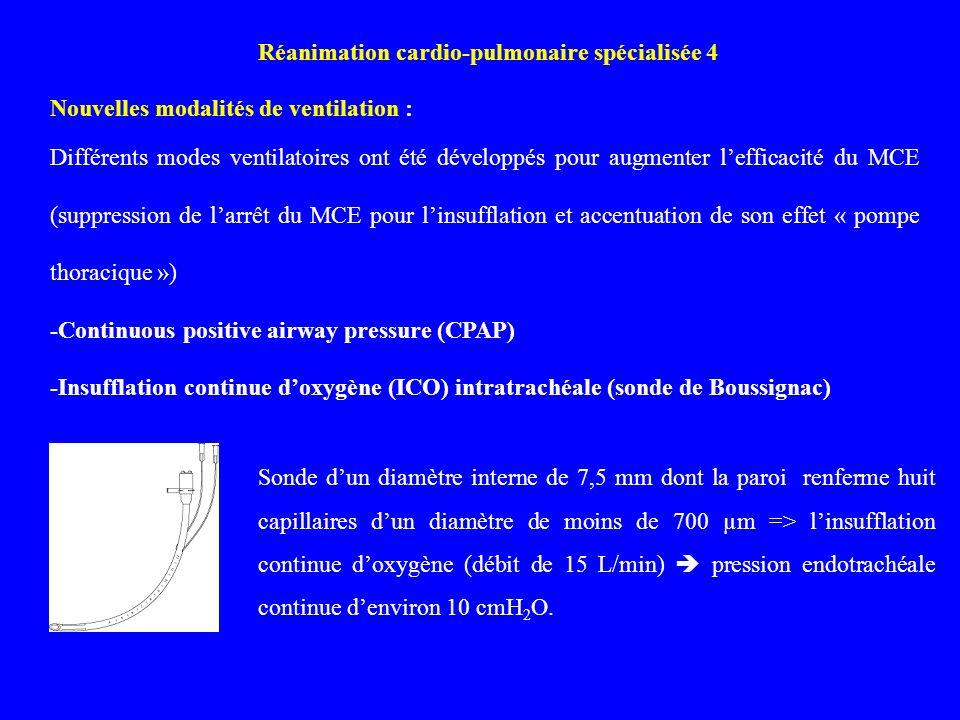 Réanimation cardio-pulmonaire spécialisée 4