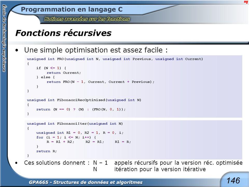 Plusieurs fonction graphique utilisent la récursivité :