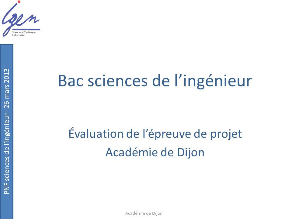 Bac sciences de l'ingénieur