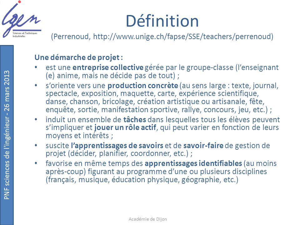 Définition (Perrenoud, http://www. unige