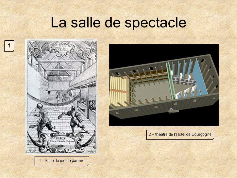 2 – théâtre de l'Hôtel de Bourgogne