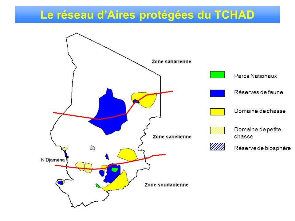 Le réseau d'Aires protégées du TCHAD
