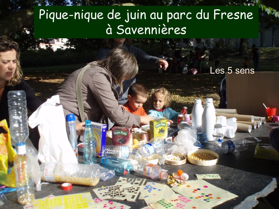 Pique-nique de juin au parc du Fresne