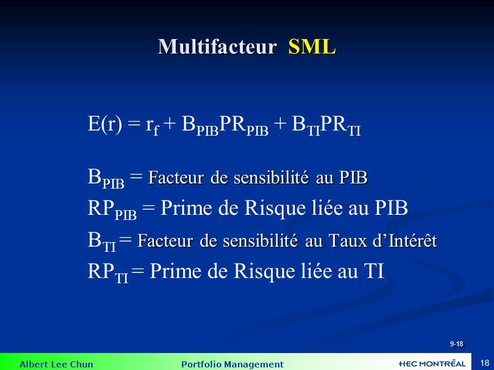 Modèle multifactoriel
