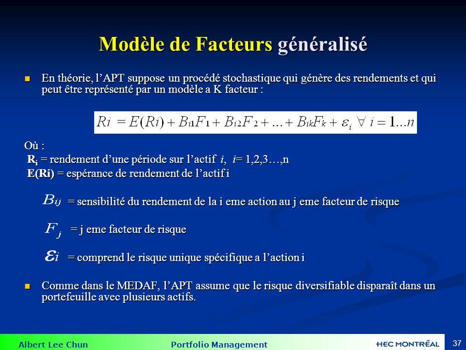 Un APT multifactoriel Modèle APT
