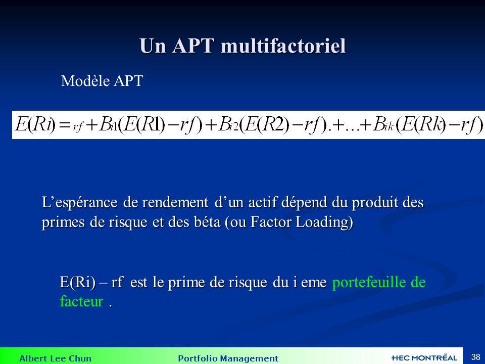 Exemple d'un problème de APT