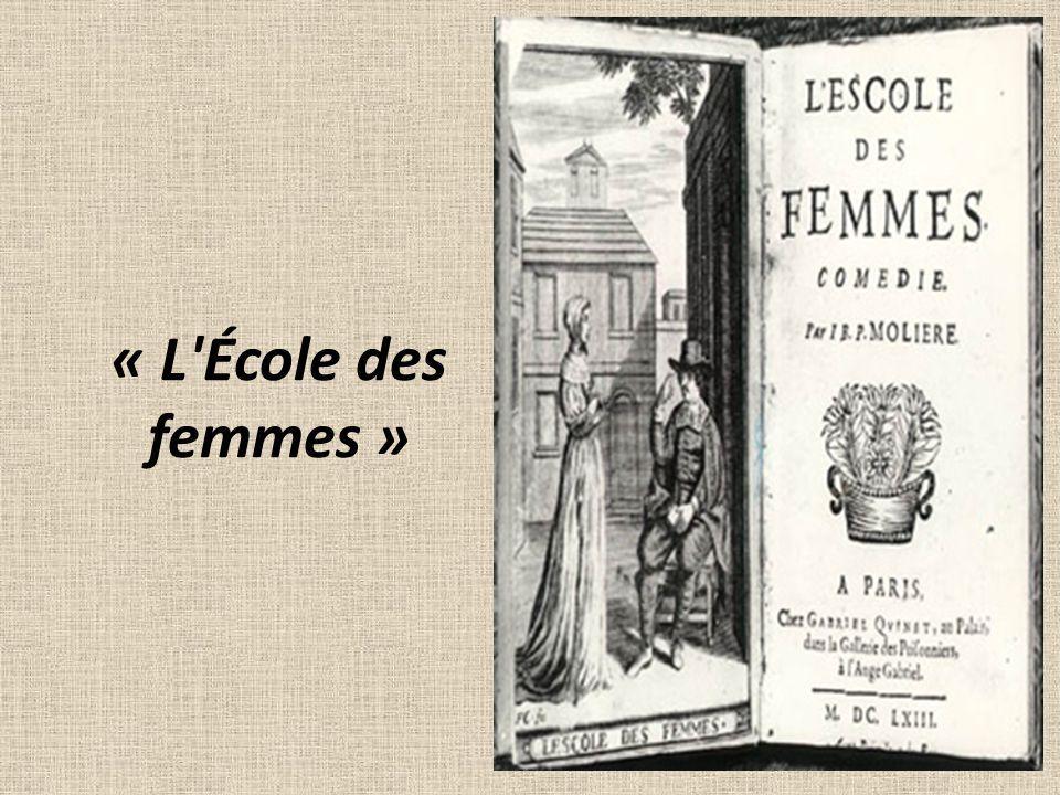 « L École des femmes »
