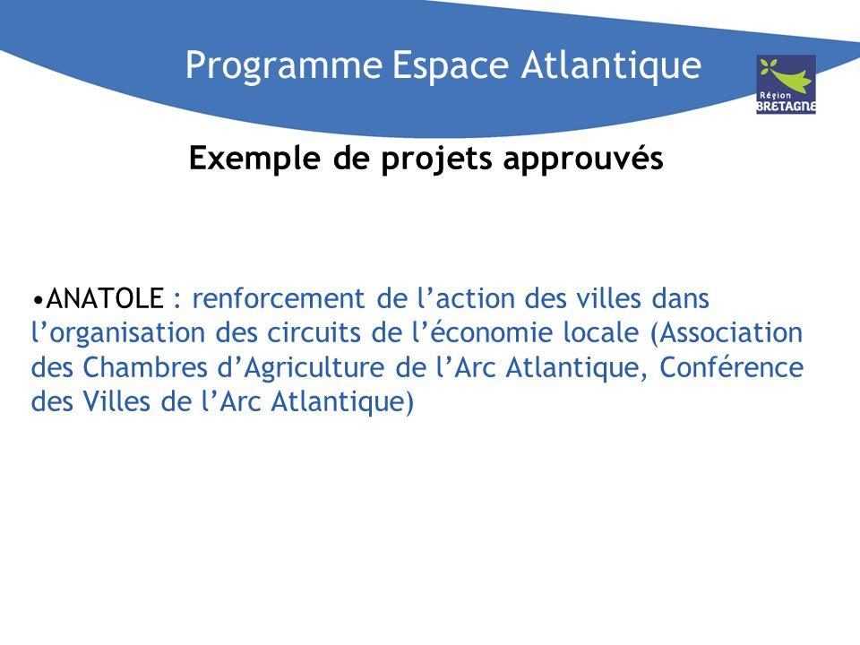 Programme Espace Atlantique