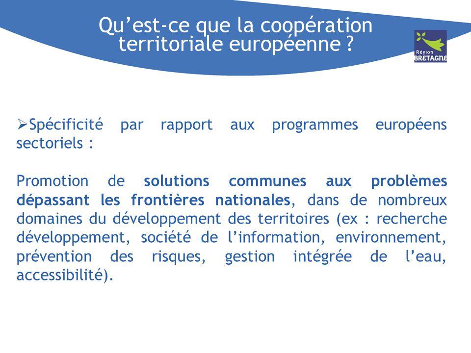 Qu'est-ce que la coopération territoriale européenne