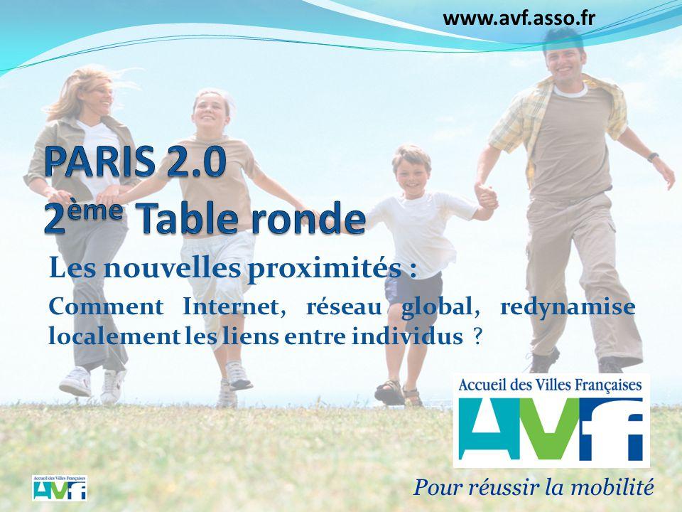 Paris 2.0 2ème Table ronde Les nouvelles proximités :