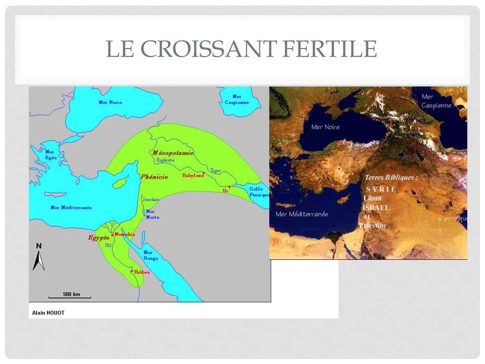 Le croissant fertile