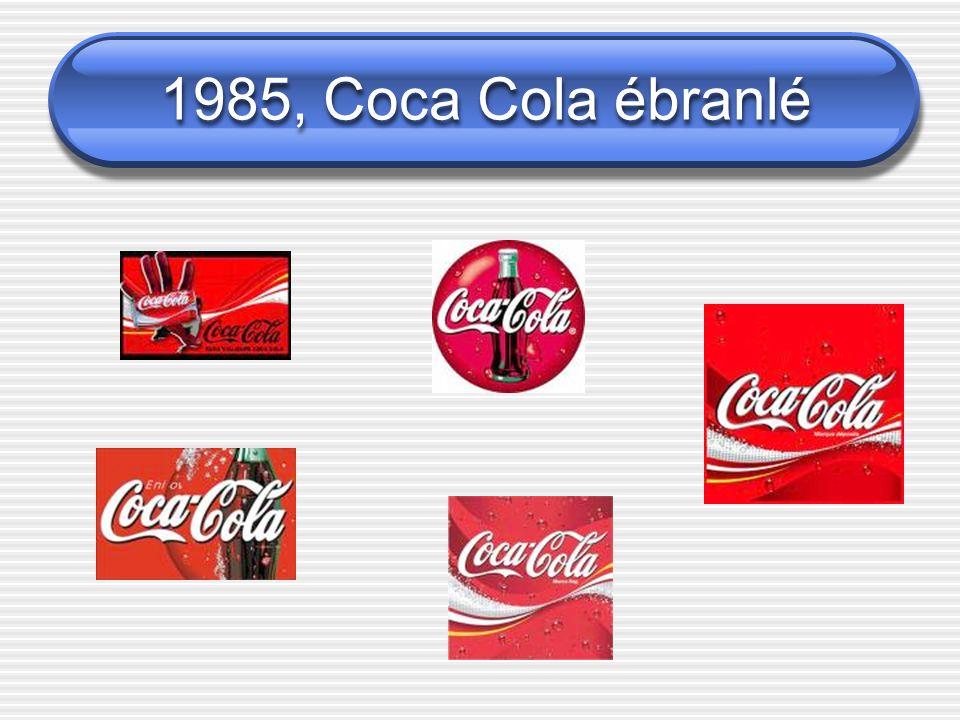 1985, Coca Cola ébranlé