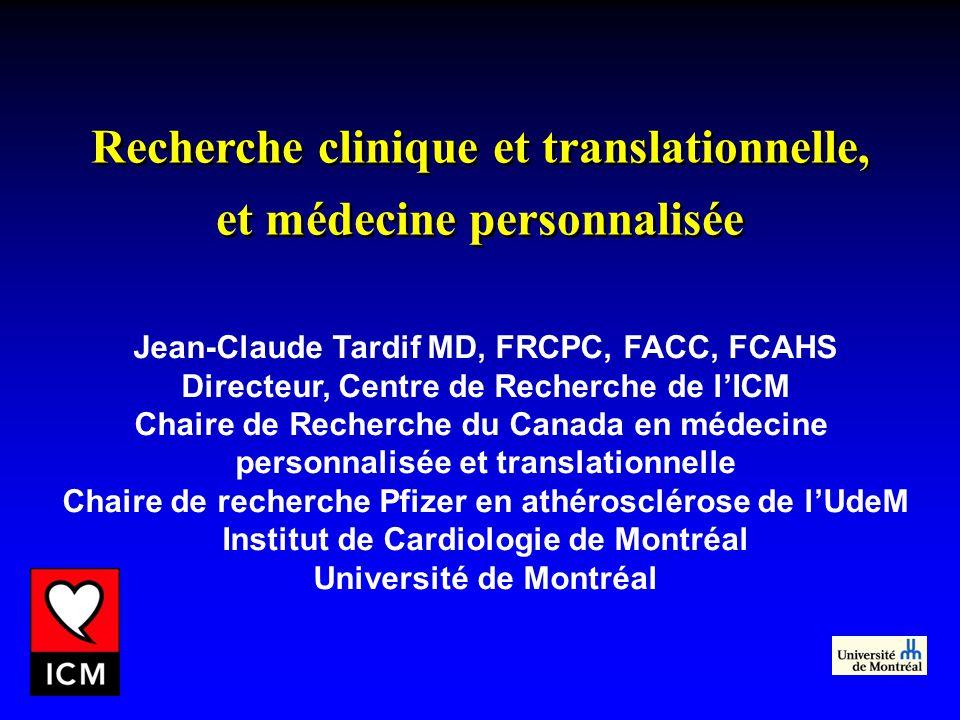 Recherche clinique et translationnelle,
