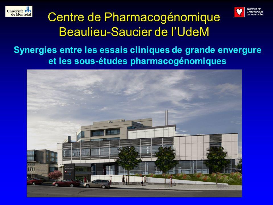Centre de Pharmacogénomique Beaulieu-Saucier de l'UdeM