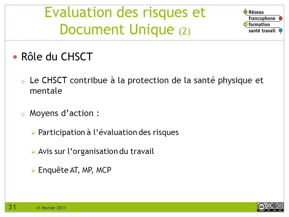 Evaluation des risques et Document Unique (2)