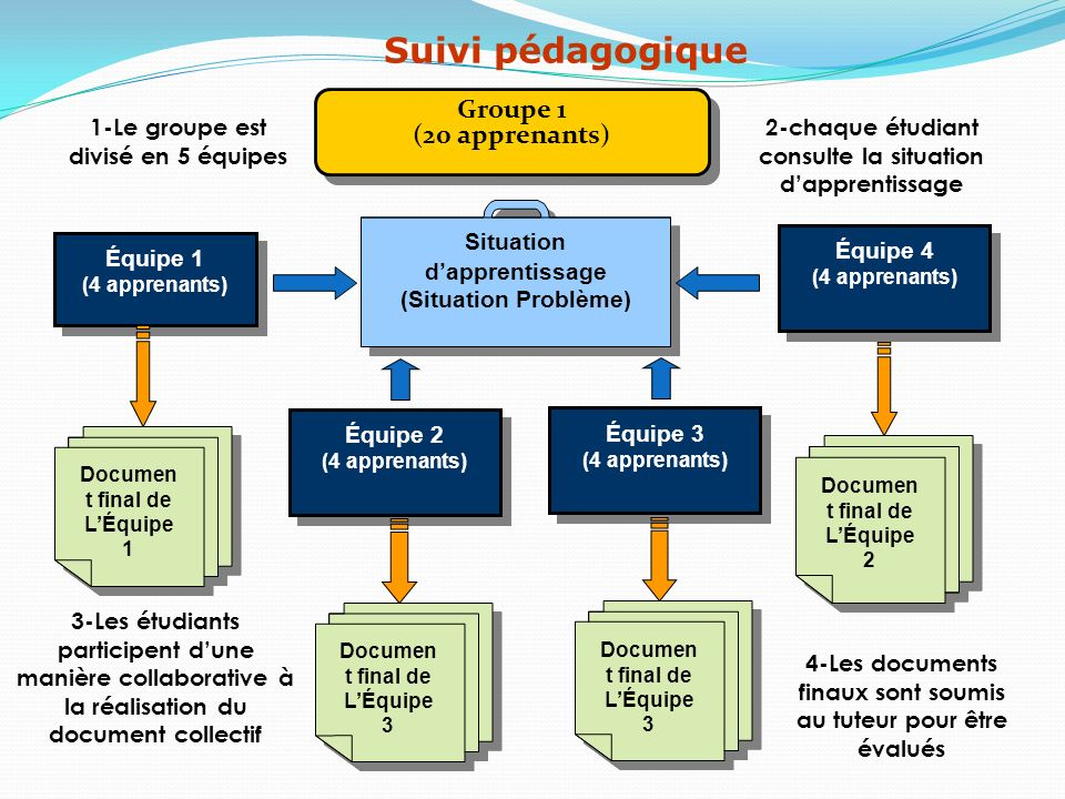 Suivi pédagogique Groupe 1 (20 apprenants)