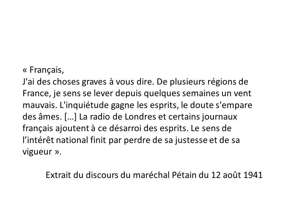 « Français,
