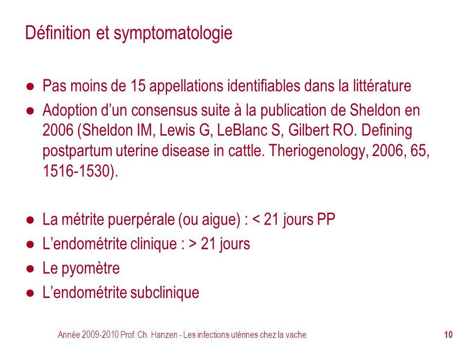 Définition et symptomatologie