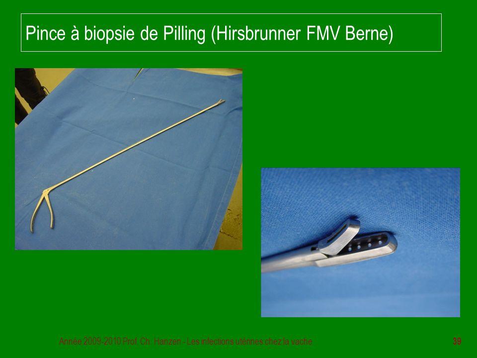 Pince à biopsie de Pilling (Hirsbrunner FMV Berne)