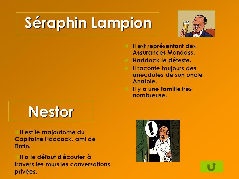 Séraphin Lampion Nestor