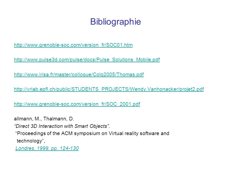 Bibliographie http://www.grenoble-soc.com/version_fr/SOC01.htm