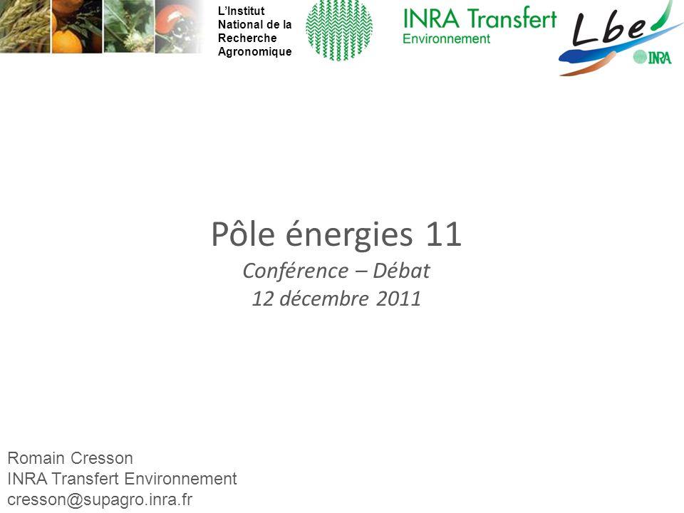 Pôle énergies 11 Conférence – Débat 12 décembre 2011