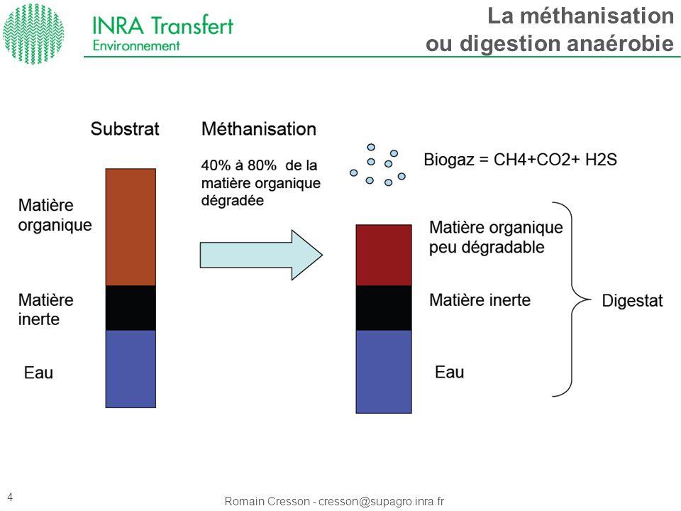 Méthanisation et dépollution