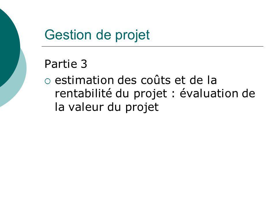 Gestion de projet Partie 3