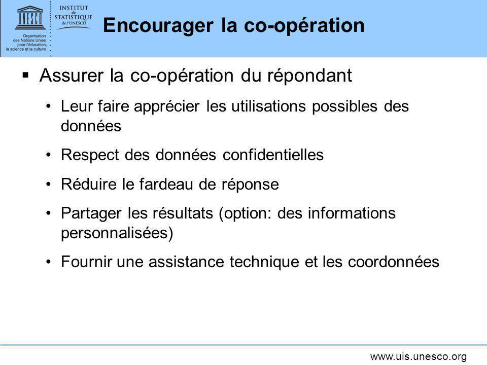 Encourager la co-opération