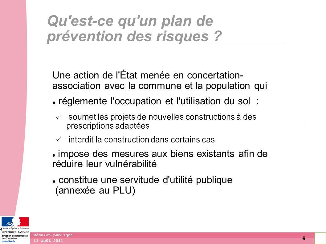 Qu est-ce qu un plan de prévention des risques