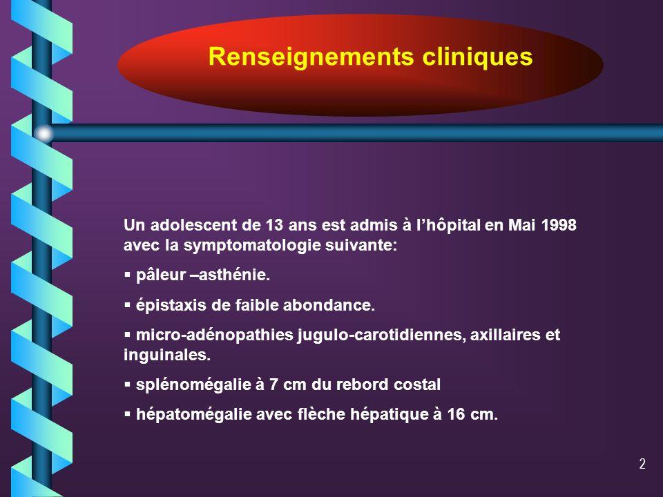 Renseignements cliniques